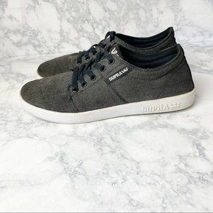 Supra Gray Skateboard Active Sneakers
